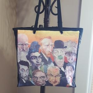 Handbags - Great Artists Tote Bag by Mike Caplanis